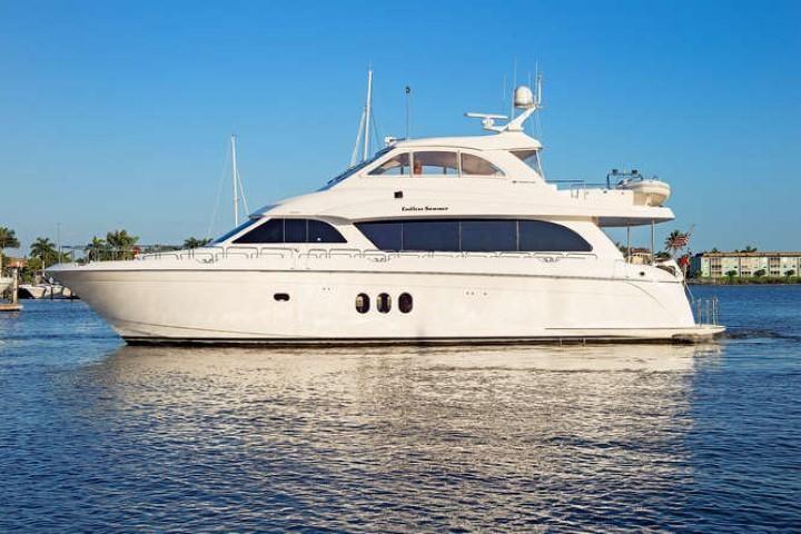 2008 Hatteras                                                              72 Motor Yacht Image Thumbnail #1
