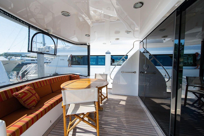 2008 Hatteras                                                              72 Motor Yacht Image Thumbnail #7