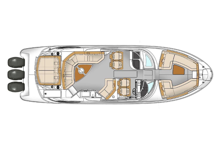 2022 Sea Ray                                                              SLX 350 OB Image Thumbnail #17