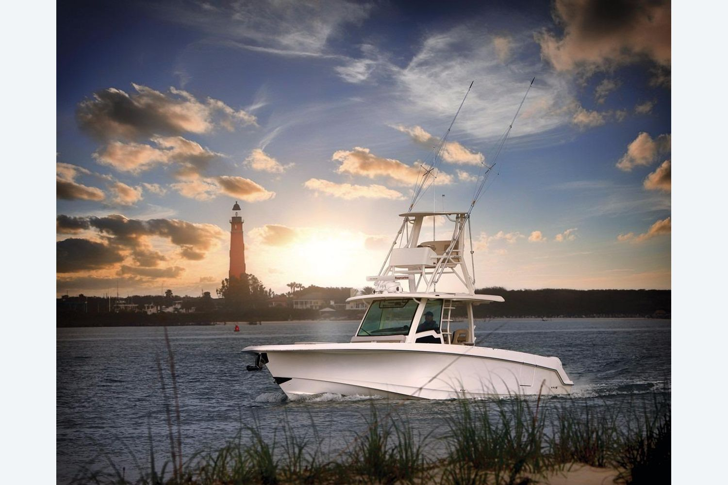 Thumbnail 3 for 2021 Boston Whaler 380 Outrage