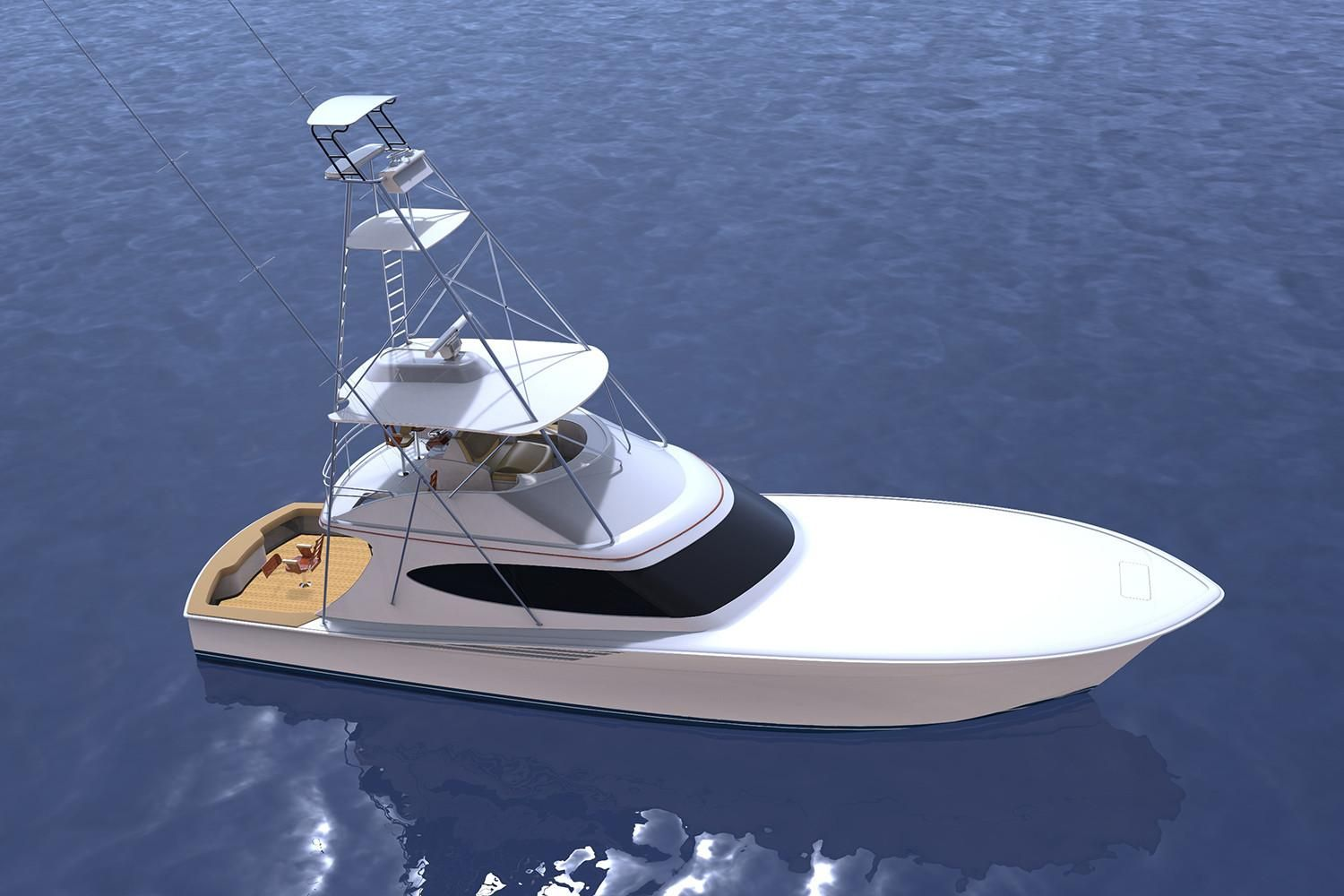 Thumbnail 2 for 2021 Hatteras GT65