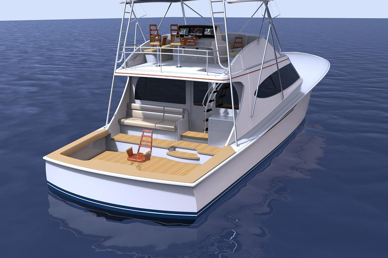 Thumbnail 3 for 2021 Hatteras GT65