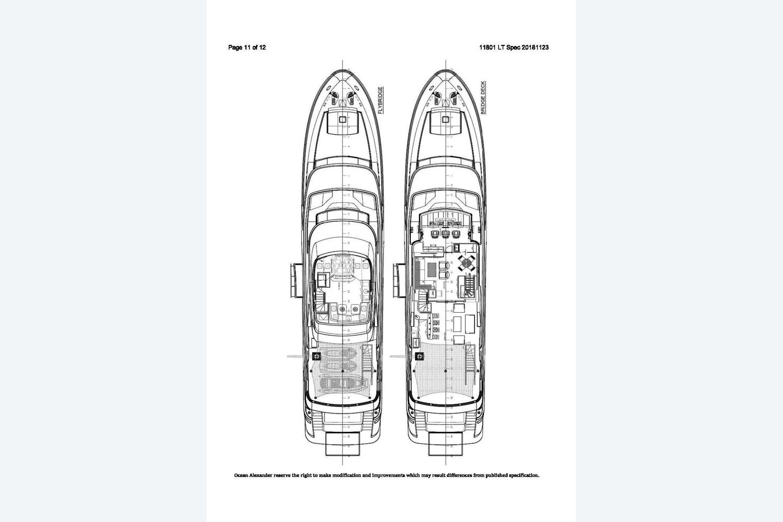 Thumbnail 2 for 2021 Ocean Alexander 118MY