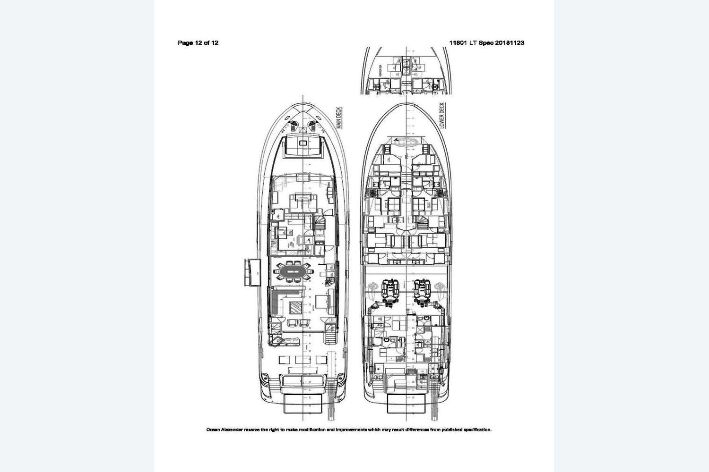 Thumbnail 3 for 2021 Ocean Alexander 118MY