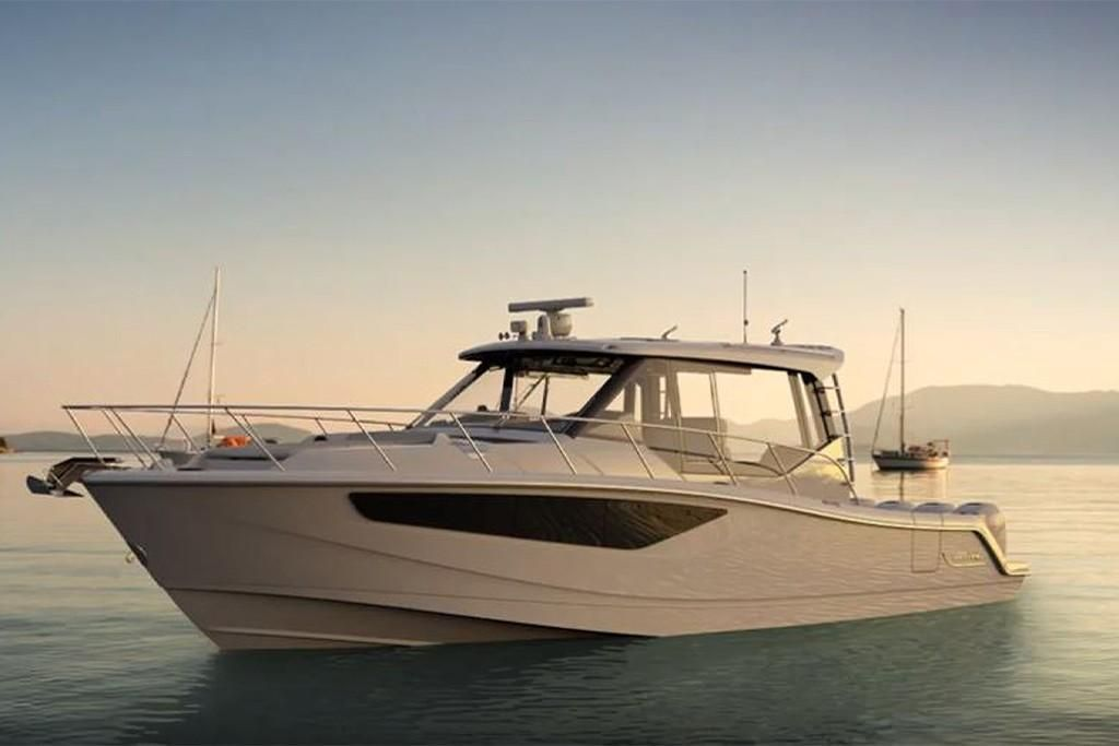 Thumbnail 3 for 2022 Boston Whaler 405 Conquest