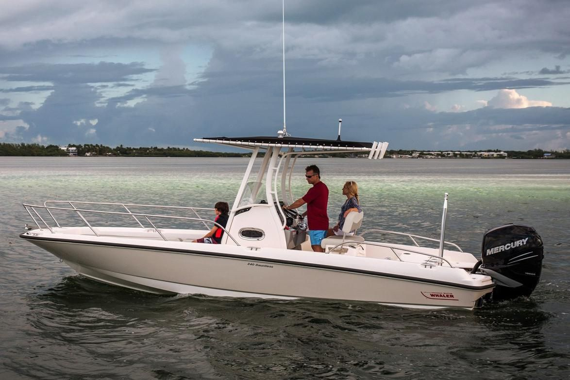 2021 Boston Whaler 240 Dauntless Image Thumbnail #3