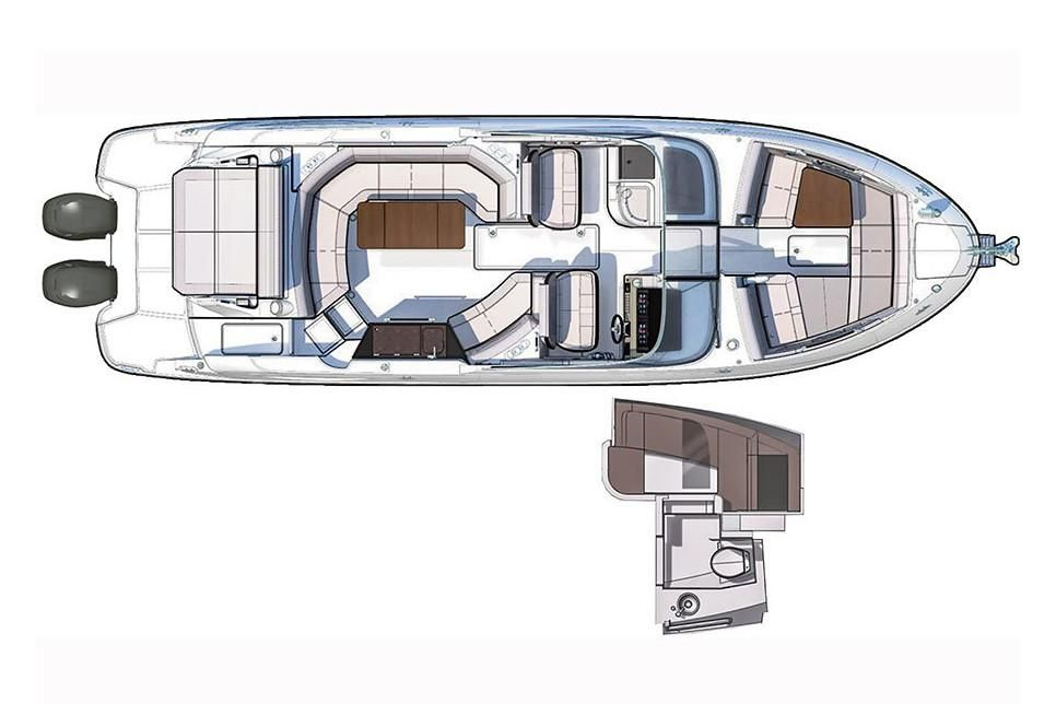 2021 Sea Ray                                                              SLX 350 OB Image Thumbnail #15