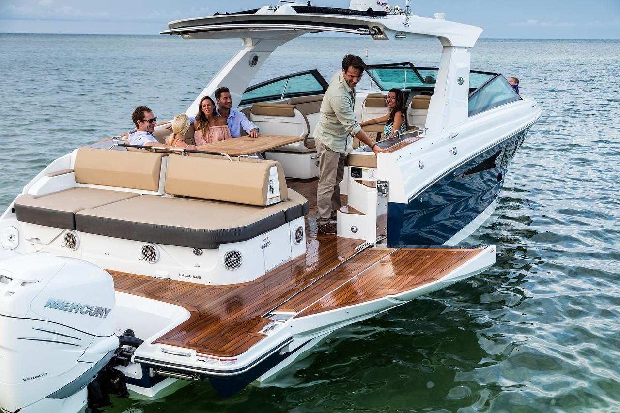 2021 Sea Ray                                                              SLX 400 OB Image Thumbnail #9