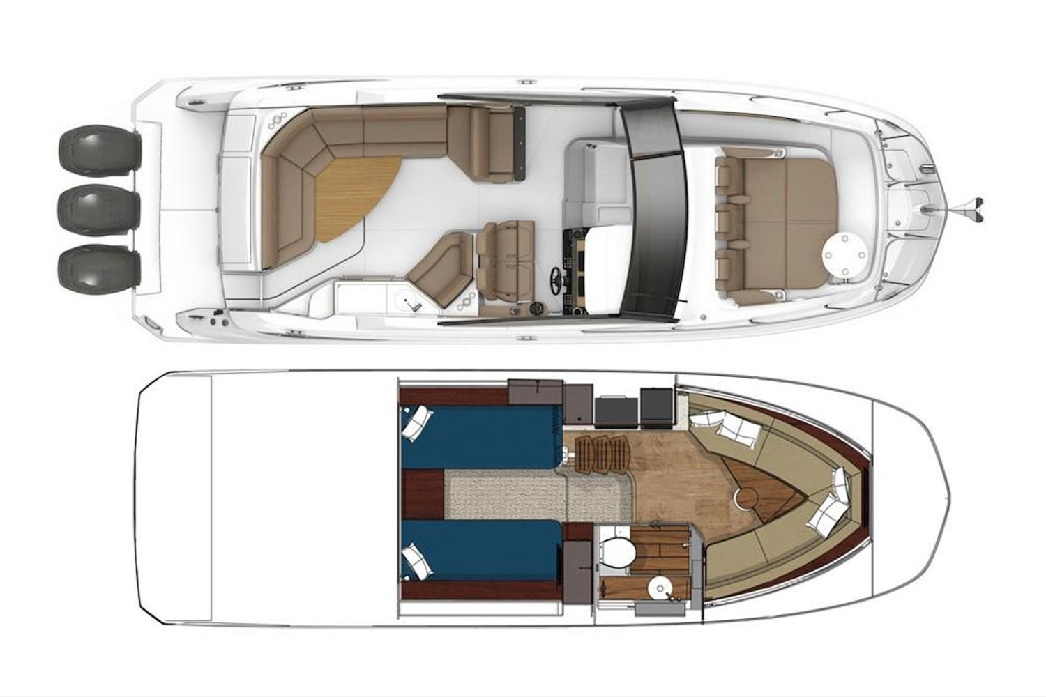 2021 Sea Ray                                                              Sundancer 320 OB Image Thumbnail #20