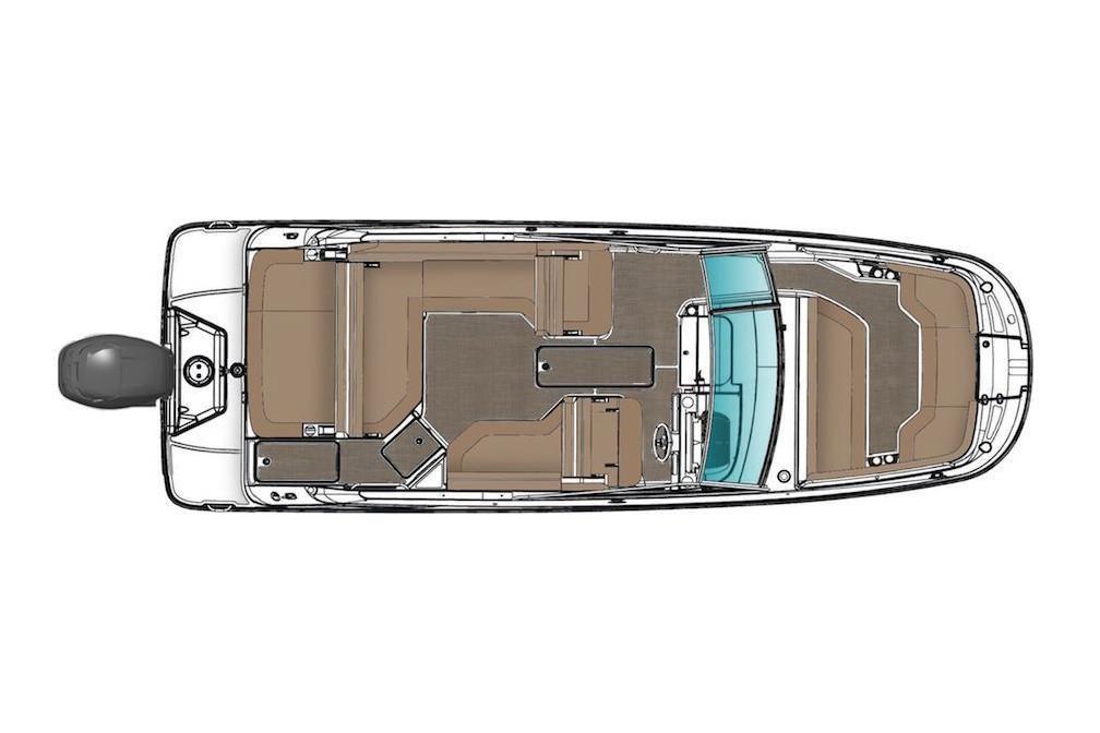 2021 Sea Ray                                                              SDX 250 Outboard Image Thumbnail #11