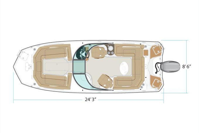 2022 NauticStar                                                              243 DC Image Thumbnail #6