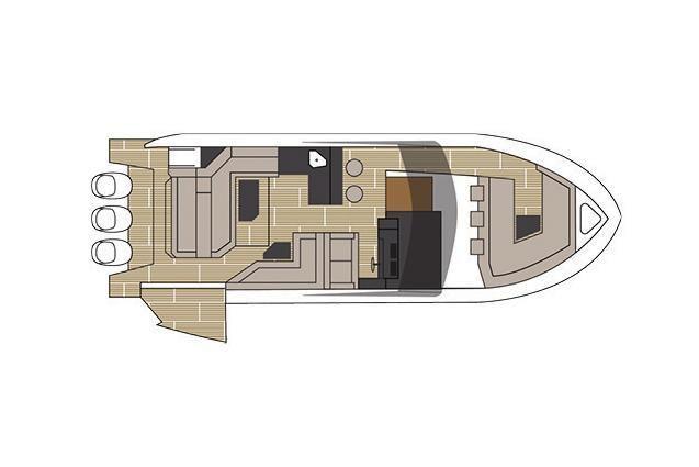 2021 Cruisers Yachts                                                              38 GLS Image Thumbnail #19