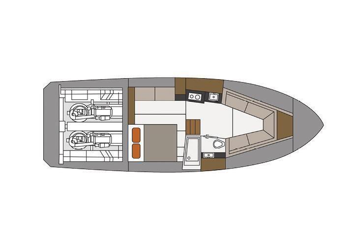 2022 Cruisers Yachts                                                              39 Express Coupe Image Thumbnail #23