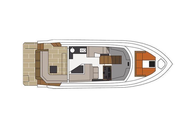 2022 Cruisers Yachts                                                              42 Cantius Image Thumbnail #16