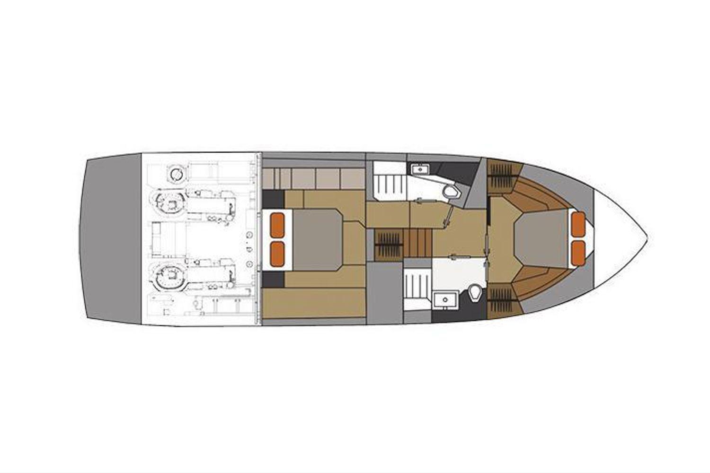 2022 Cruisers Yachts                                                              46 Cantius Image Thumbnail #16