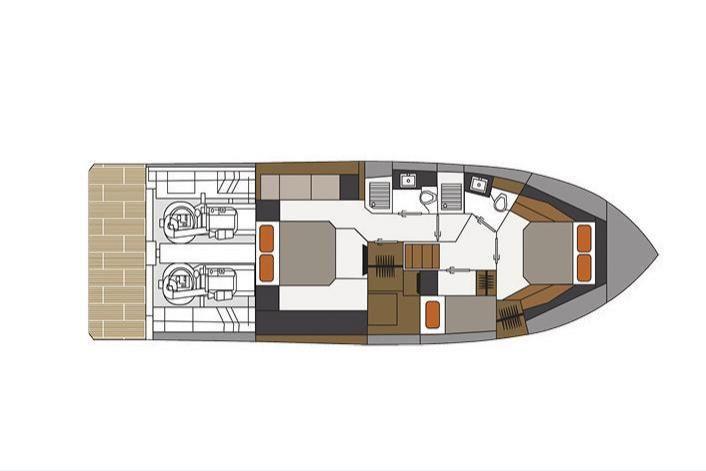 2021 Cruisers Yachts                                                              50 Cantius Image Thumbnail #22