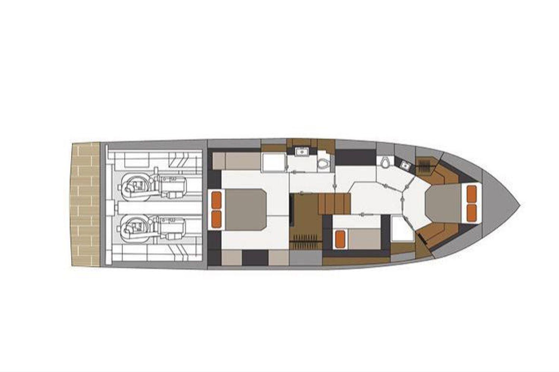 2022 Cruisers Yachts                                                              54 Cantius Image Thumbnail #22