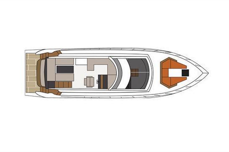 2022 Cruisers Yachts                                                              54 Fly Image Thumbnail #21