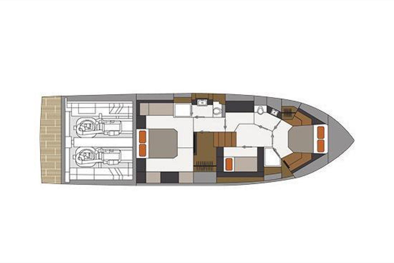 2022 Cruisers Yachts                                                              54 Fly Image Thumbnail #23
