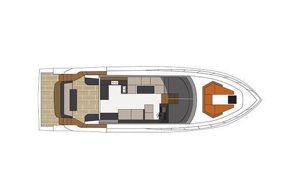 2022 Cruisers Yachts                                                              54 Fly Image Thumbnail #22