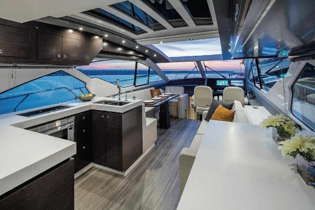 2021 Cruisers Yachts                                                              60 Cantius Image Thumbnail #7