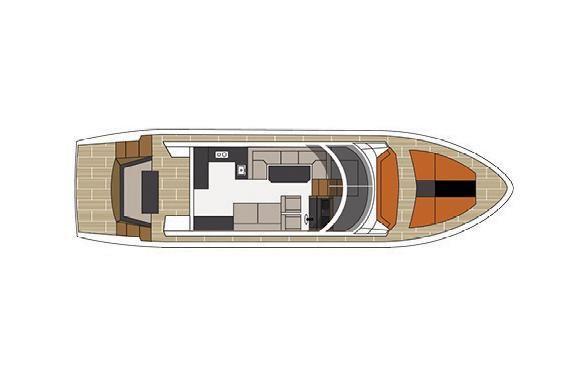 2022 Cruisers Yachts                                                              60 Fly Image Thumbnail #21