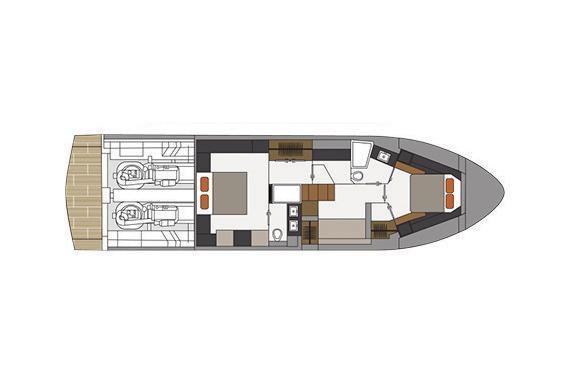 2022 Cruisers Yachts                                                              60 Fly Image Thumbnail #22