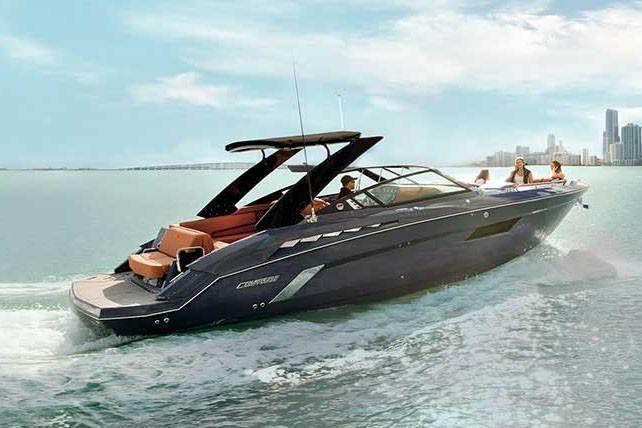 2021 Cruisers Yachts                                                              338 South Beach Edition Bow Rider Image Thumbnail #0